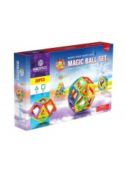 MAGSPACE 26 PIESE - Magic Ball Set - JOC MAGNETIC EDUCATIV DE CONSTRUCTIE 3D