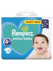 Scutece Pampers 4+ Active...