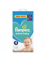 Scutece Pampers 4 Active...