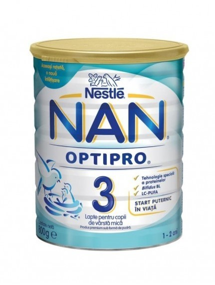 Nestle Nan Optipro 3 800g 54,50 RON